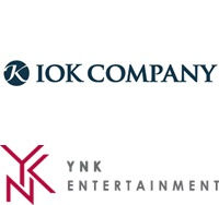 Logos of IOK Company, at the top, and YNK Entertainment [IOK COMPANY, YNK ENTERTAINMENT]