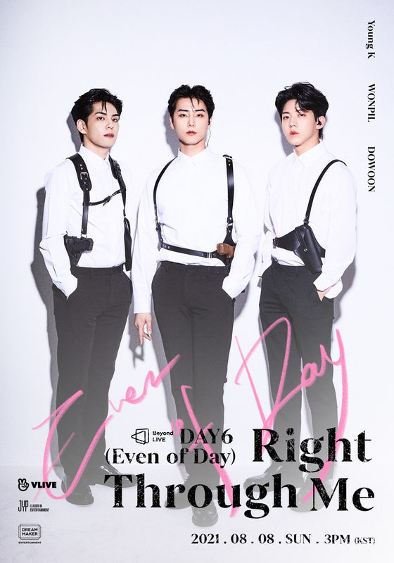 The poster for Even of Day's upcoming concert [JYP ENTERTAINMENT]