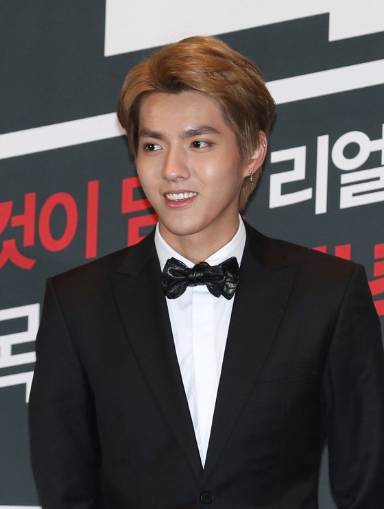 Kris Wu, Chinese-Canadian singer and former member of K-pop boy band Exo. [AP/YONHAP]