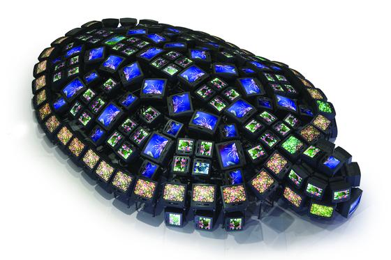 ″Turtle″ by Nam June Paik. [ULSAN ART MUSEUM]