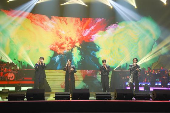 Crossover vocal quartet Rabidance [JTBC]