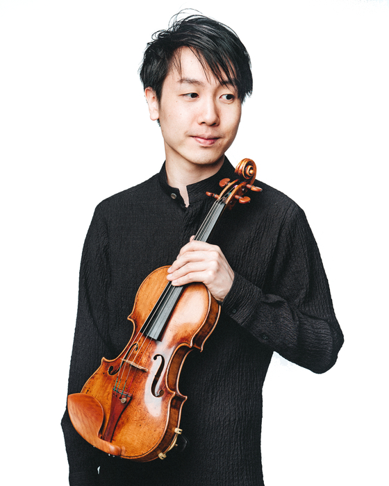 Violinist Stephen Kim [CHRISTOPHE WU]