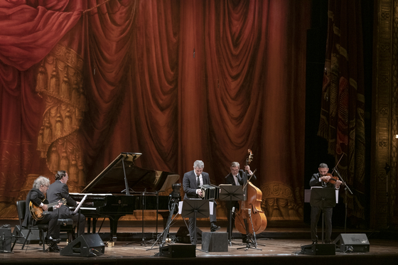 Quinteto Astor Piazzolla is performing in Korea next month as part of its international tour. [BOM ARTS PROJECT]