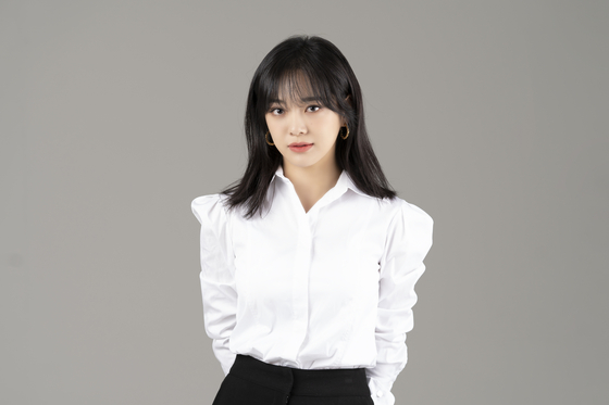 Singer and actor Kim Se-jeong made her musical debut in ″Red Book″ this year. [JELLYFISH ENTERTAINMENT]
