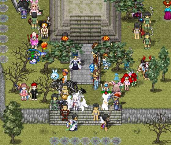 Nexon's online role-playing game Kingdom of the Winds [NEXON]