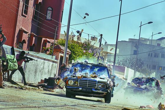 A scene from movie ″Escape from Mogadishu″ [LOTTE ENTERTAINMENT]