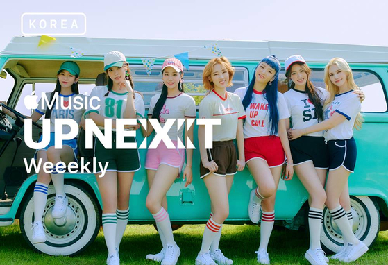 Girl group Weeekly for Apple Music's ″Up Next Korea″ [APPLE MUSIC]