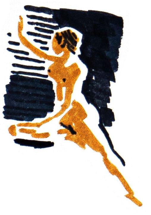 A sketch of a nude model [KOREA NUDE MODEL ASSOCIATION]