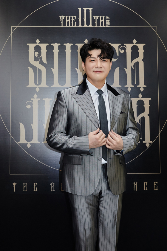 Singer and music video director Shindong of Super Junior [SM ENTERTAINMENT]