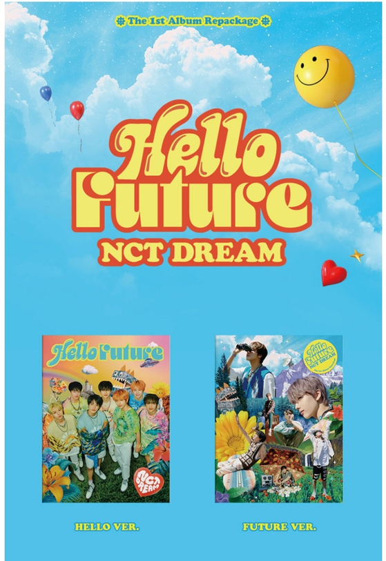 """""""Hello Future"""" (2021) is the repackaged version of NCT Dream's """"Hot Sauce."""" [SCREEN CAPTURE]"""