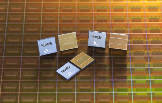 Image of SK hynix DRAM chips [SK HYNIX]