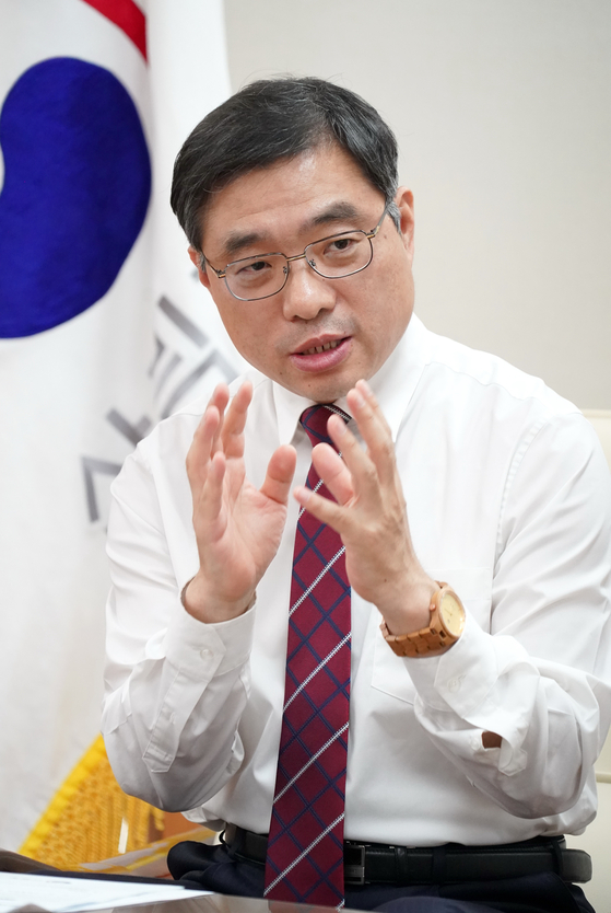 Choi Byeong-am, minister of the Korea Forest Service. [KOREA FOREST SERVICE]