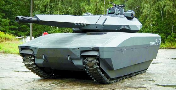 A stealth tank.