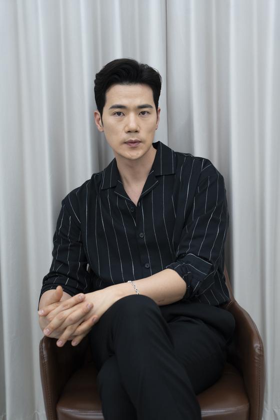 Actor Kim Kang-woo [ILGAN SPORTS]