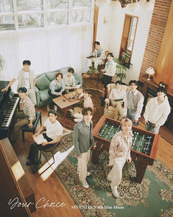 Seventeen's eighth EP, ″Your Choice″ [PLEDIS ENTERTAINMENT]