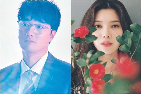 Lee Jang-won, left, and Bae Da-hae [ILGAN SPORTS]