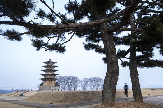 The royal palace site in Wanggung-ri, Iksan [PARK JONG-KEUN]