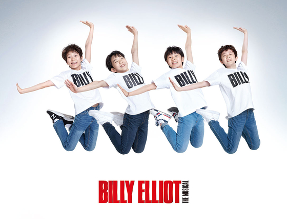 Korean production of ″Billy Elliot″ is gearing up to kick off its new production on Aug. 31 with new boys who have been cast as Billy. [SEENSEE COMPANY]