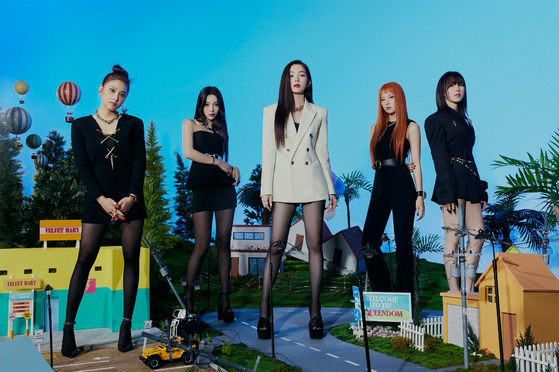Girl group Red Velvet [SM ENTERTAINMENT]