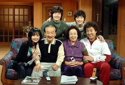 A scene from the MBC sitcom ″High Kick!″ (2006-2007) [MBC]