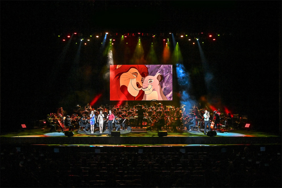 """""""Disney in Concert: A Dream is a Wish"""" is being staged at the Sejong Center for the Performing Arts from Sept. 2. [CREDIA]"""