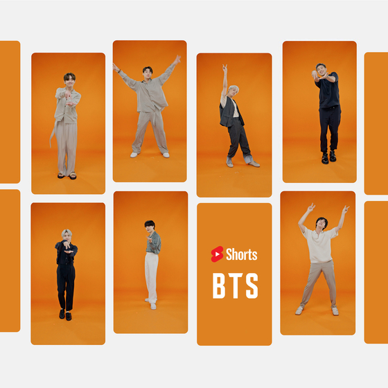 BTS encouraged the world to dance with its ″Permission to Dance Challenge″ on YouTube Shorts. [YOUTUBE]