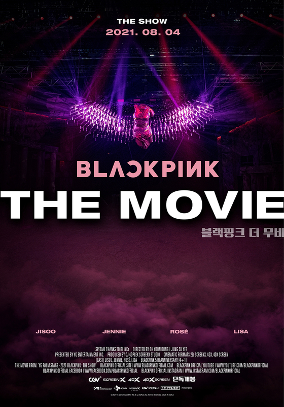 Poster for ″Blackpink the Movie″ [YG ENTERTAINMENT]