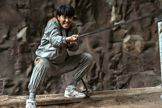 """A scene from """"chasm"""" with actor Cha Seung-won [SHOWBOX]"""