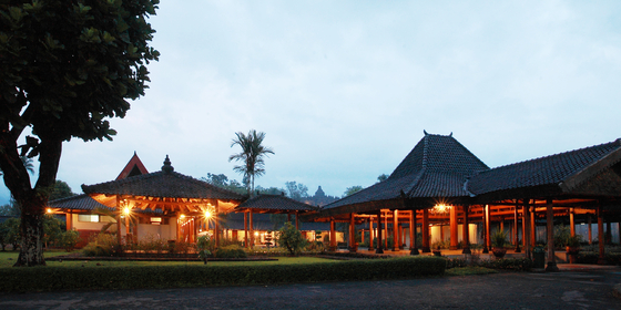 Monohara Hotel, one of the accommodations near the temple compounds. [BOROBUDUR PARK MANAGEMENT]