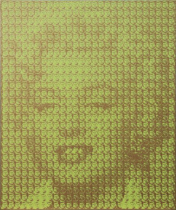 ″Marylin Monroe (John F Kennedy)″ by artist Kim Dong Yoo. [LEE HWAIK GALLERY]