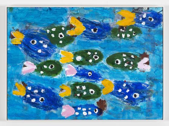 ″Fish Family,″ 2003 [GANA ART]