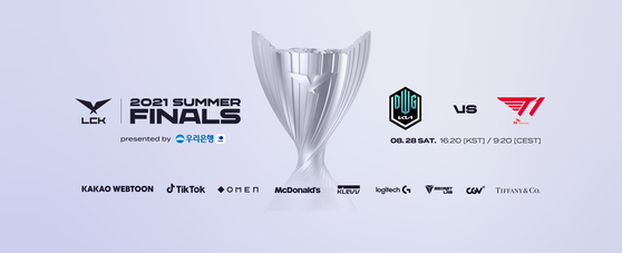 The 2021 League of Legends Champions Korea Summer Split Finals will be played this Saturday at the CJ ENM Studio in Ilsan, Gyeonggi. [RIOT GAMES]