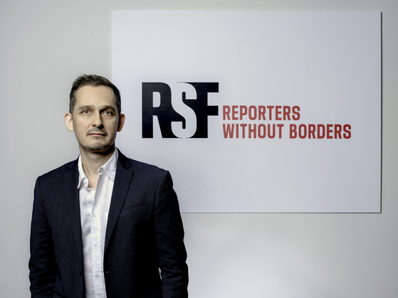 Cedric Alviani, Reporters Without Borders (RSF) East Asia Bureau head