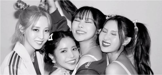 A teaser image for Mamamoo's upcoming concert ″WAW″ [RBW]