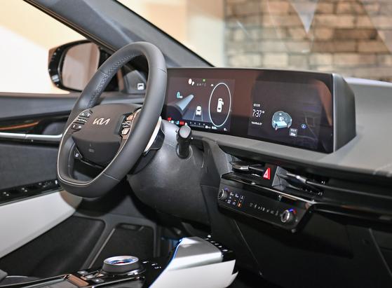 Interior of the Kia EV6 [KIA]