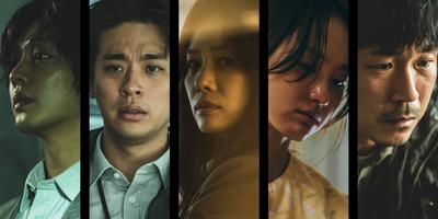 "The cast of Netflix series ""Hellbound"" [NETFLIX]"
