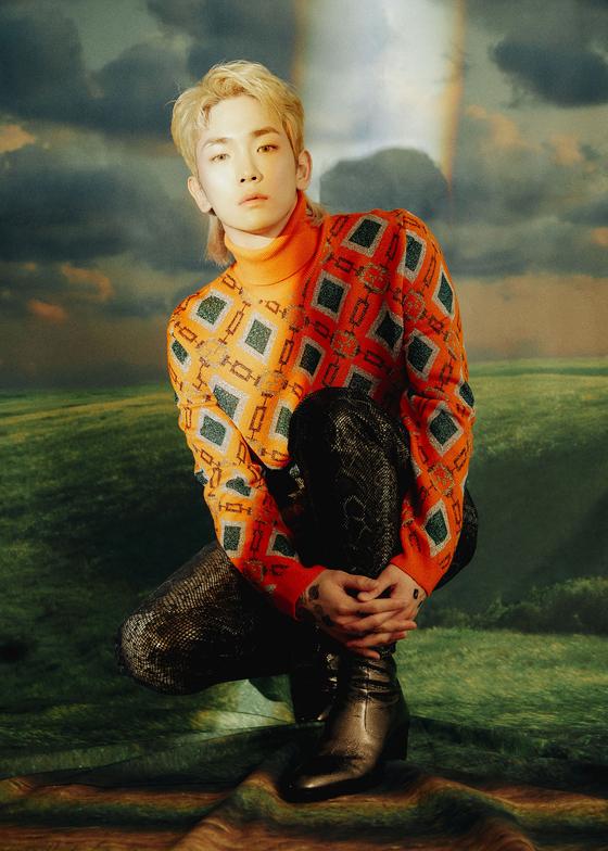Key, a member of boy band SHINee [ILGAN SPORTS]
