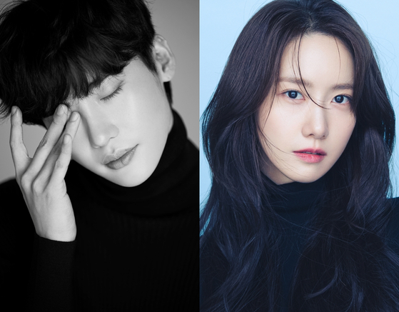 Lee Jong-suk, left, and Yoona [A-MAN PROJECT, SM ENTERTAINMENT]