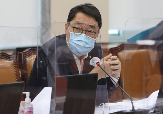 Rep. Yoon Young-chan of the Democratic Party [YONHAP]