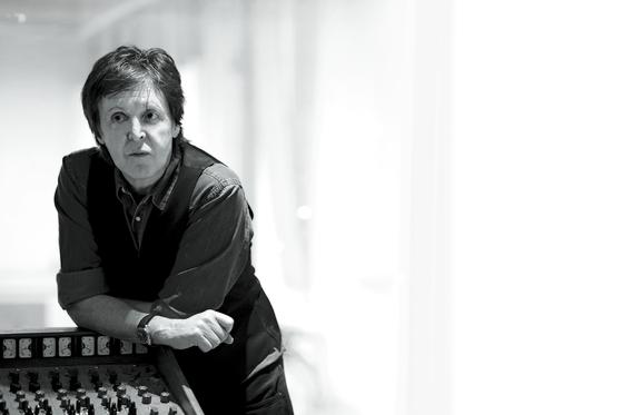 Kim has been British pop legend and former Beatle Paul McCartney's personal photographer since 2008. [MJ KIM, MPL COMMUNICATIONS]
