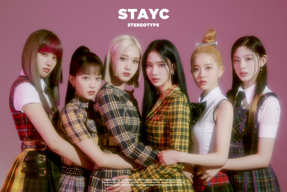 """Teaser image for STAYC's new EP """"Stereotype"""" [HIGHUP ENTERTAINMENT]"""