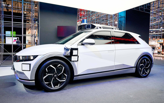 Hyundai Motor's driverless taxi, which will be offered as part of a ride-hailing service in the United States from 2023. [HYUNDAI MOTOR]