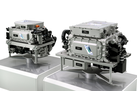 The image of next-generation fuel cell systems that are expected to hit the market in 2023. [HYUNDAI MOTOR GROUP]