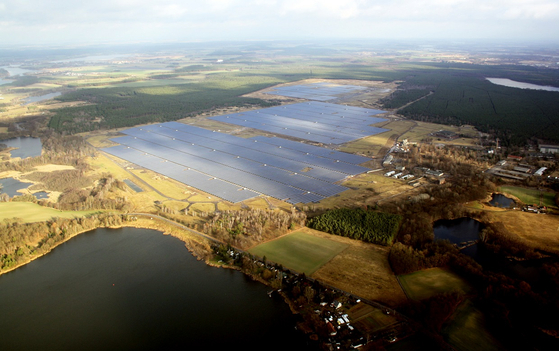 Hanwha Q Cells' solar power plant in Germany [HANWHA Q CELLS]