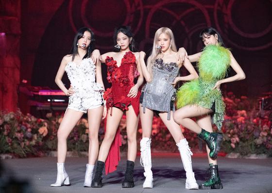 K-pop group Blackpink [YG ENTERTAINMENT]
