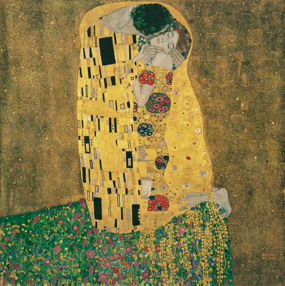 ″The Kiss″ by Gustav Klimt [BELVEDERE, VIENNA]