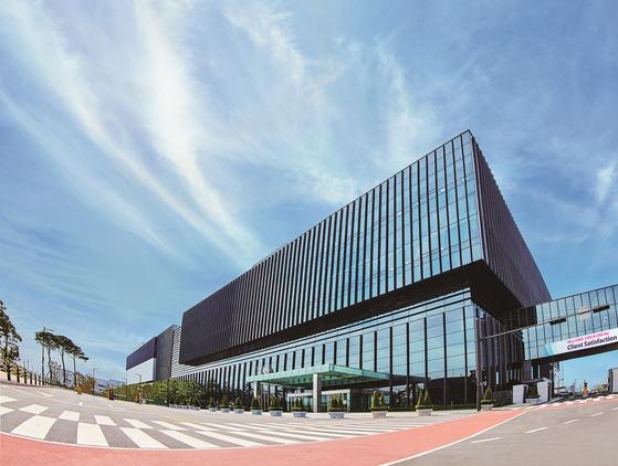 Samsung Biologics' third plant in Songdo, Incheon. [SAMSUNG BIOLOGICS]