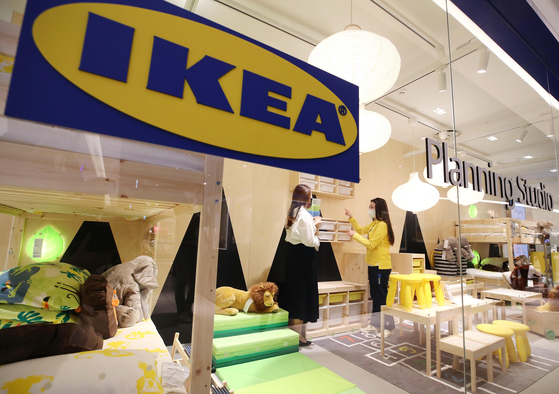 A view of an Ikea store within Hyundai Department Store in Gangdong, Seoul. [NEWS1]