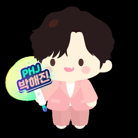 An avatar of Park Hae-jin, designed by Amazer [AMAZER]