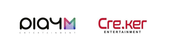 Play M Entertainment and Cre.Ker Entertainment will merge into one label. [ILGAN SPORTS]